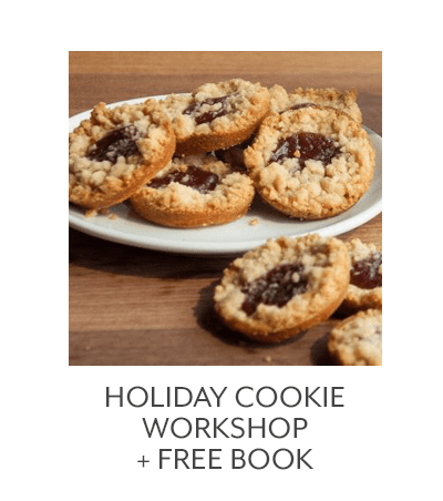 Holiday Cookie Workshop + GWP Book