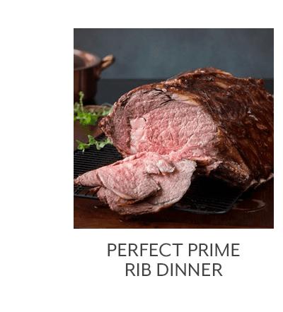 Perfect Prime Rib Dinner
