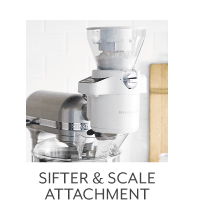 Sifter and Scale Attachment