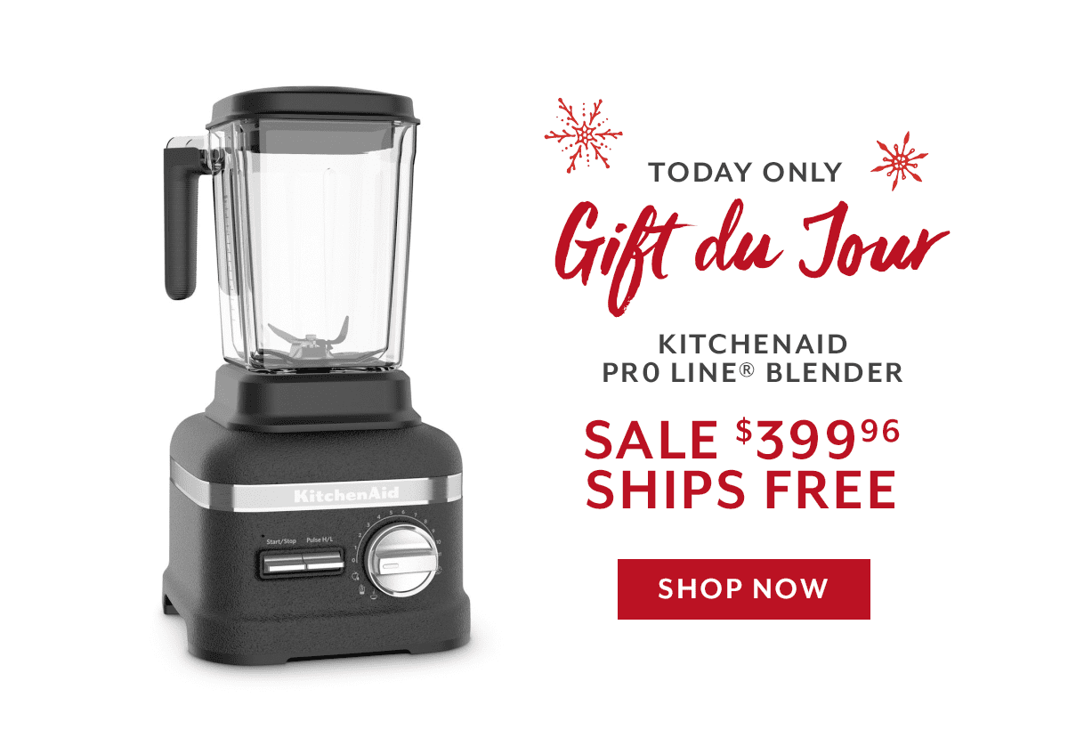 Gift Du Jour - KA Pro Line Blender