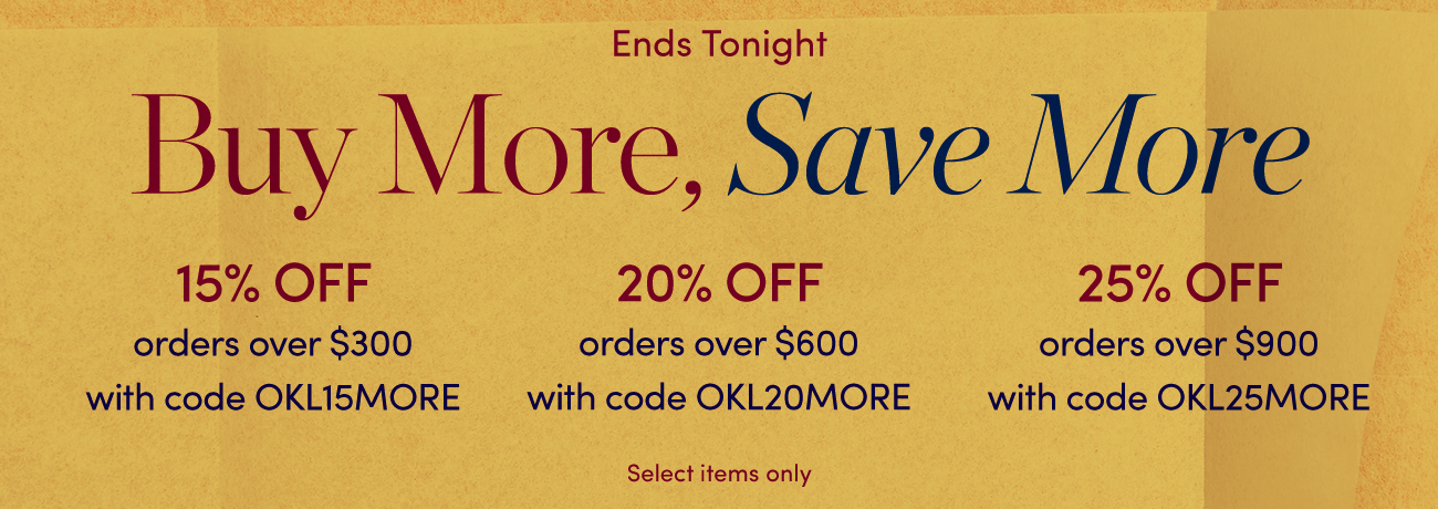 Buy More Save More-Last Day