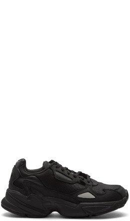 adidas Originals - Black Falcon Sneakers