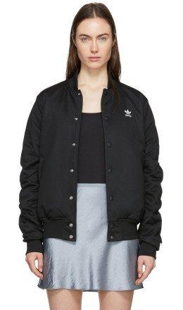 adidas Originals - Black SC Bomber Jacket