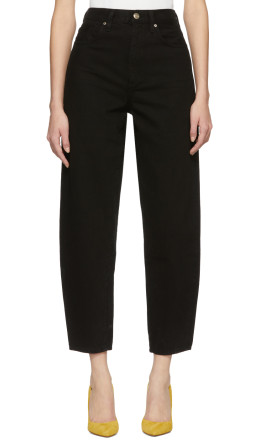 Goldsign - Black 'The Curved' Jeans