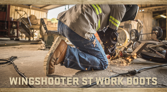 Red Wing Shoes: When the workday gets long, Wingshooter ST boots