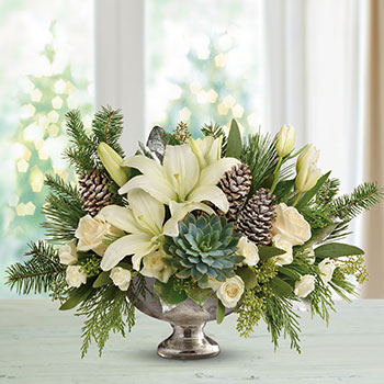 Teleflora's Winter Wilds Centerpiece