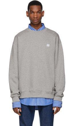 Acne Studios - Grey Forba Face Sweatshirt