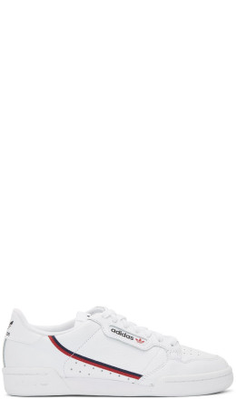 adidas Originals - White Continental 80 Sneakers