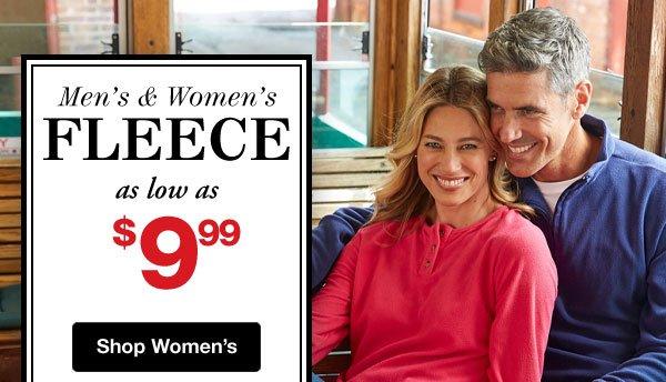 Shop Women's Fleece Sale!