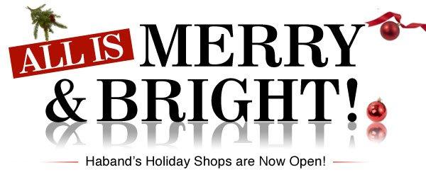 Shop Haband's Holiday Shops!