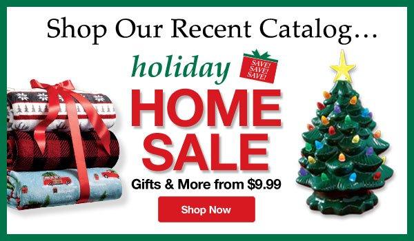 Shop Holiday Home Sale!