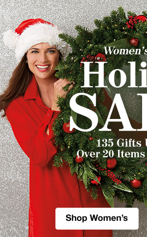 Shop Women's Holiday Sale!