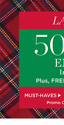 Last Chance! 50% off entire site, plus free shipping on orders of $50 or more. Promo code ASANTA. Shop Must-Haves.