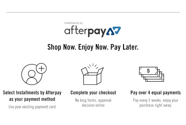 Installments by AfterPay