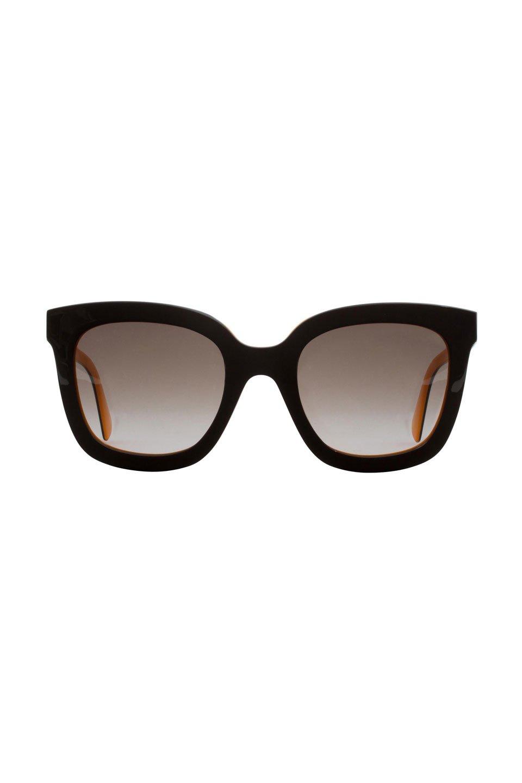 Ladies Sunglasses in Brown and Orange