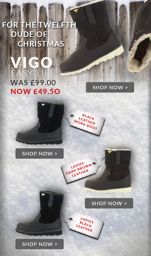 2d909694be3f Heydudeshoes.co.uk  12th Dude Of Christmas - 50% Off Vigo Boots