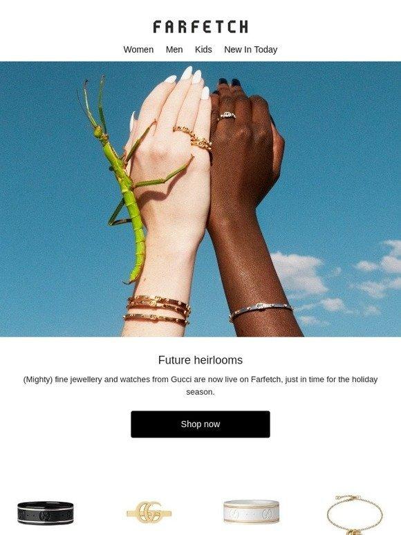 d5acf545926f Farfetch  Gucci fine jewellery just launched on Farfetch