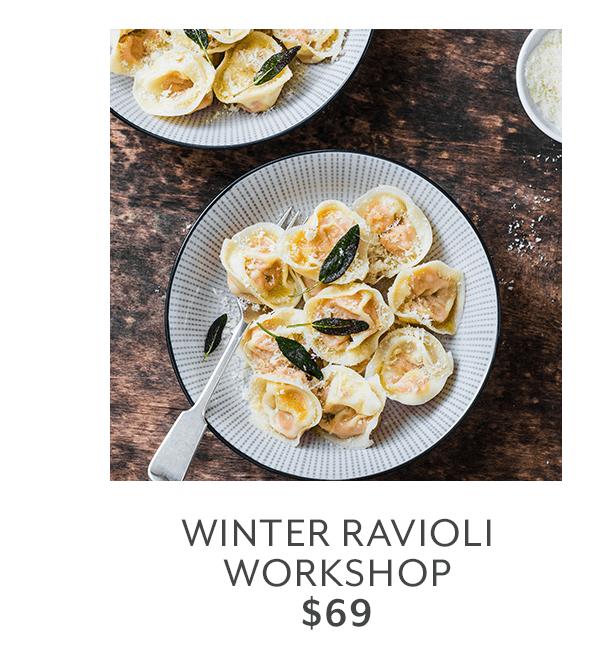 Class - Winter Ravioli Workshop