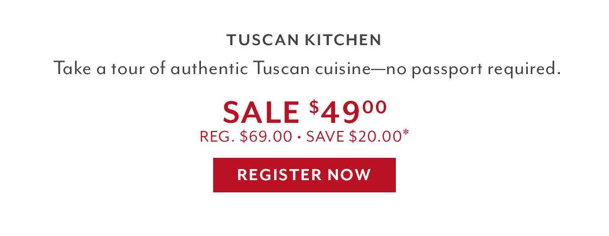 Gift du Jour • Tuscan Kitchen