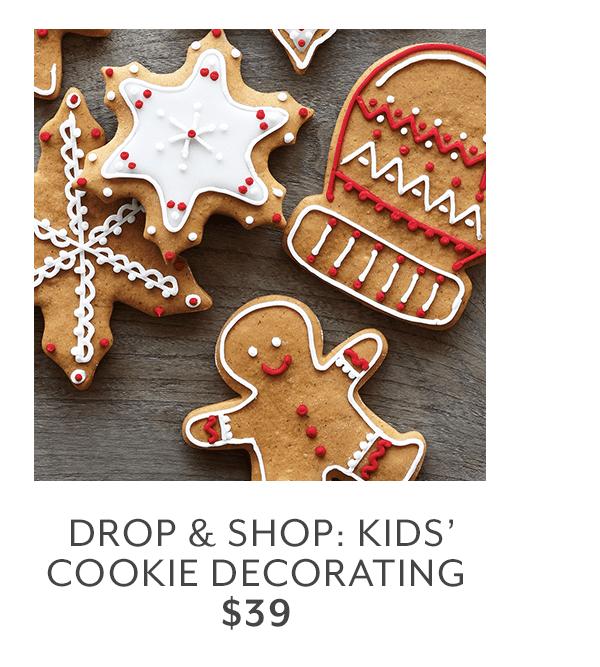Class - Drop & Shop • Kids' Cookie Decorating