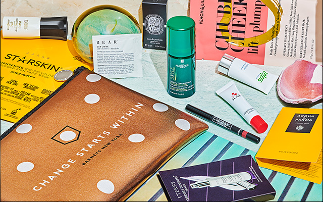 Our gift to you: a beauty bag filled with your favorite products.