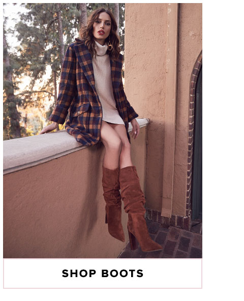 Winter Essentials. Everything you need when it's cold outside. Shop Boots.