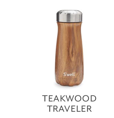 S'well Teakwood Traveler