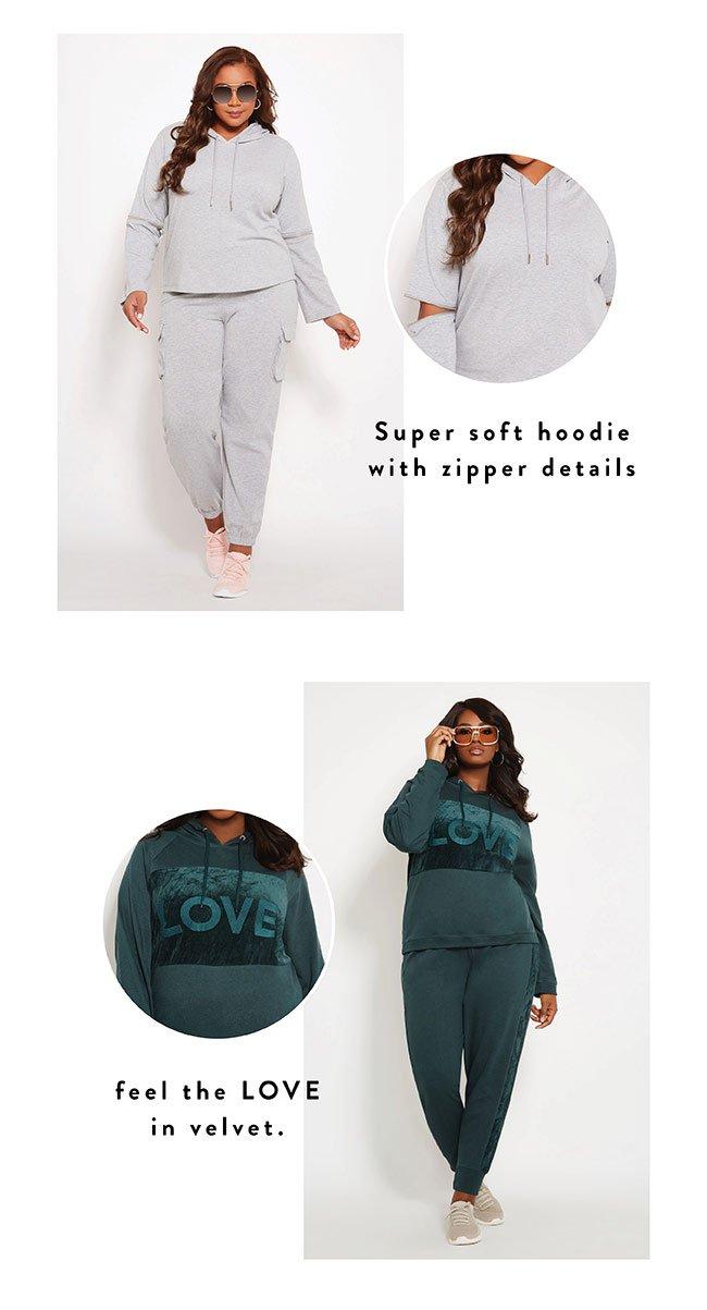 Feel the love in this velvet - Shop Now