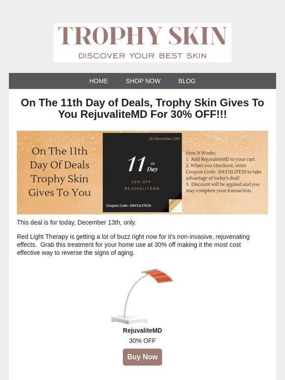 trophy skin coupon code