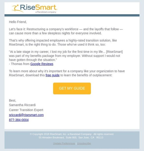 risesmart com: Hear what laid-off employees are saying about
