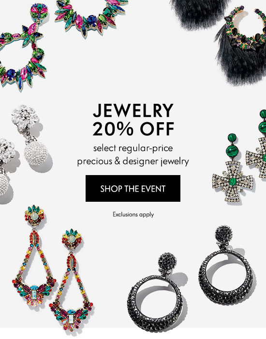 20% Off Jewelry