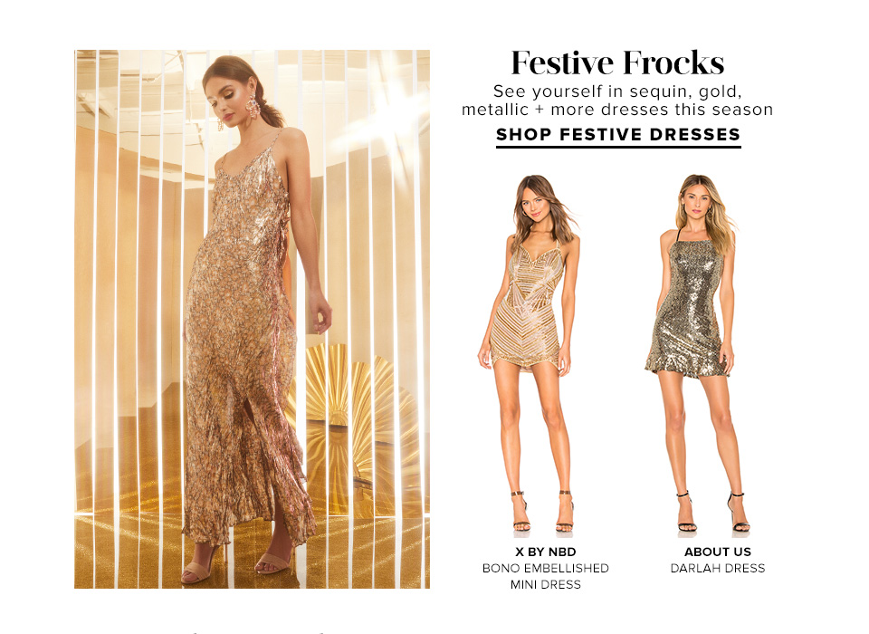 Festive Frocks. Shop Festive Dresses.