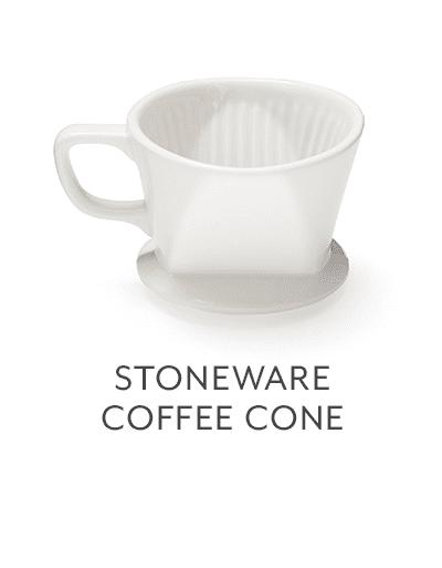 Stoneware Coffee Cones