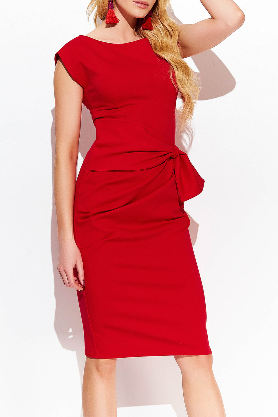 HARLEY DRESS IN RED