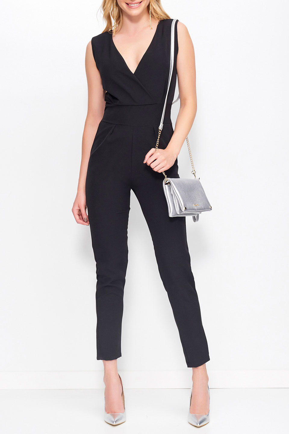 CHERRY OVERALL IN BLACK