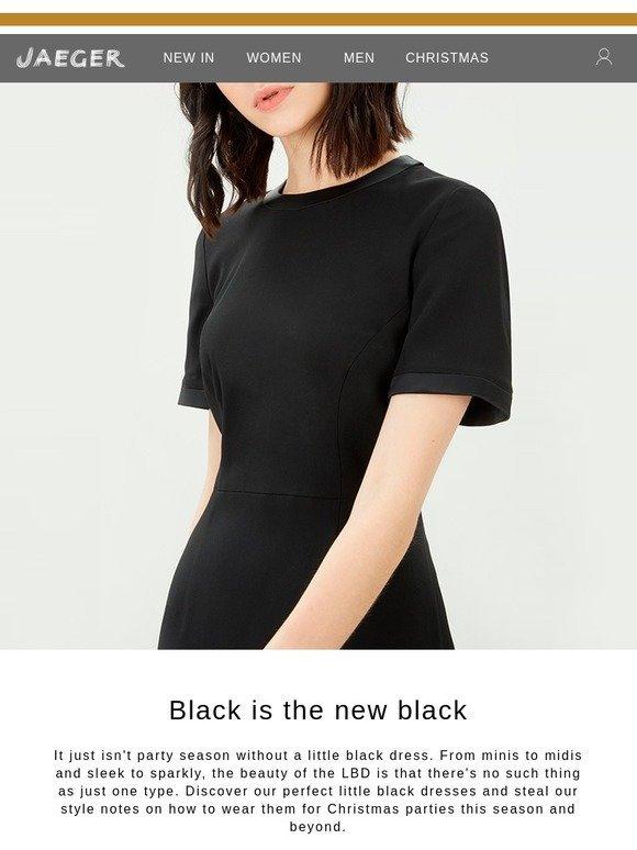 Jaeger Uk The Ultimate Little Black Dress Milled