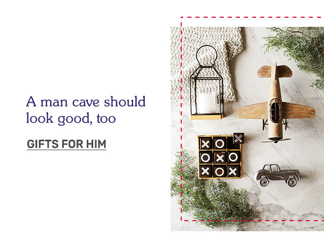 A man cave should look good, too. Shop Gifts for Him!