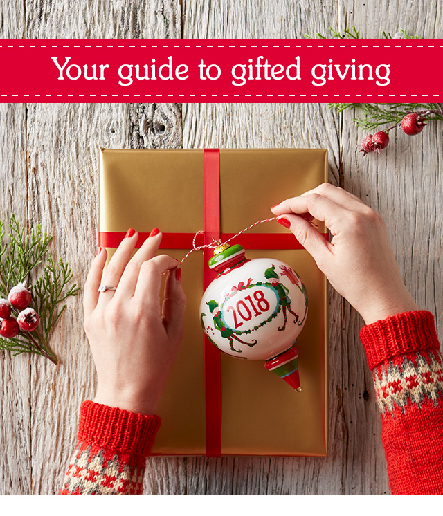 Your guide to gifted giving.