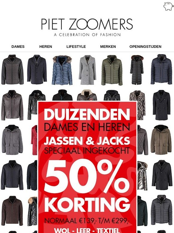2eb9458dae0b0e Milled Korting Speciaal 50 nl Jassen Jacks Ingekocht amp  Zoomers Met  z7xf1qw