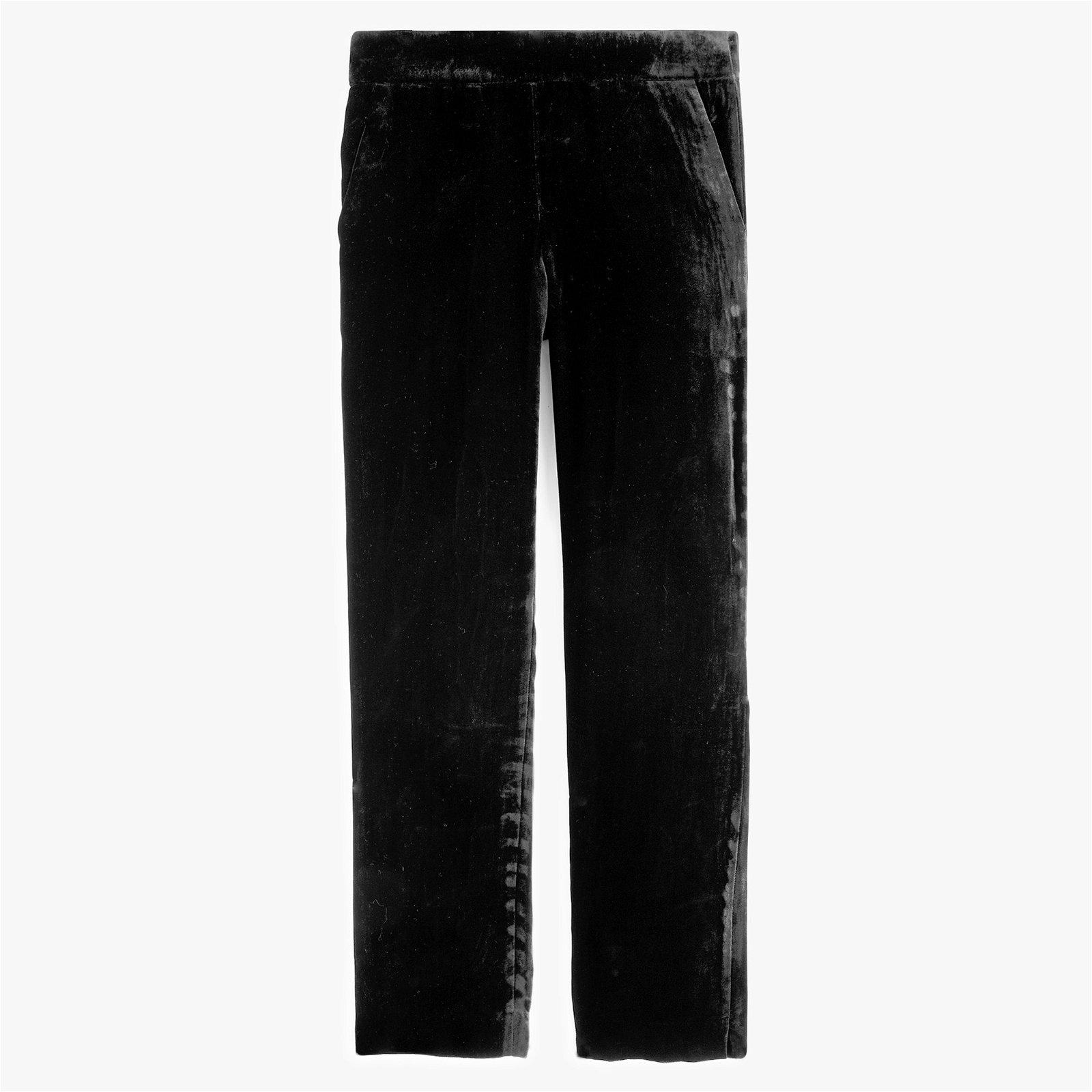 Classic Pull-on easy pant in velvet