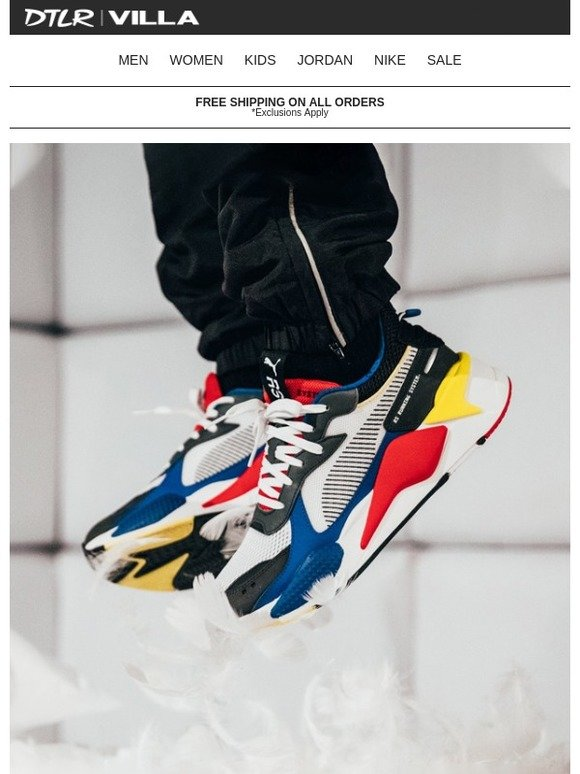 6446c01c7af DTLR (Down Town Locker Room)  PUMA RS-X TOYS