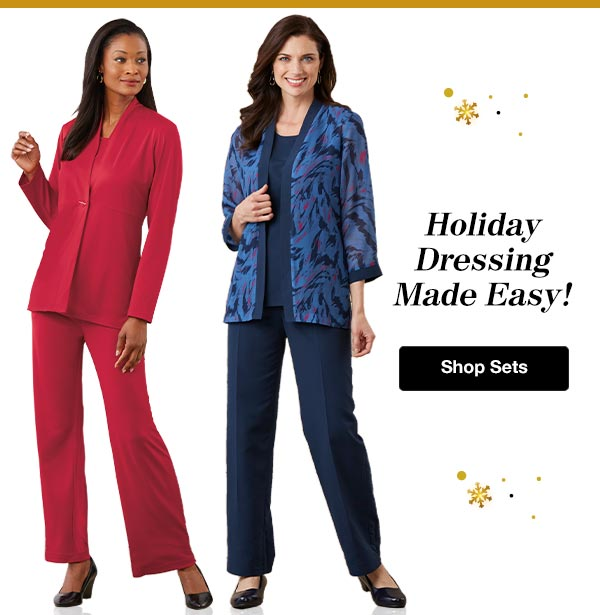 Shop Women's Holiday Sets!