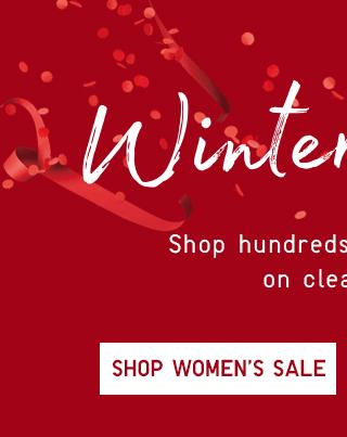 WINTER SALE - SHOP WOMEN'S SALE