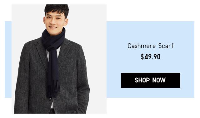 CASHMERE SCARF $49.90 - SHOP NOW