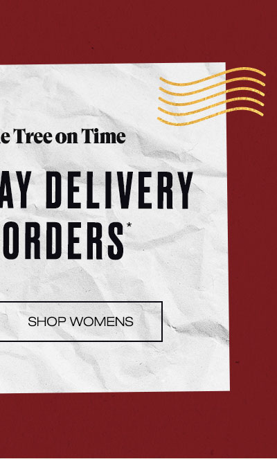 Free Holiday Delivery On All Orders* - Shop Womens
