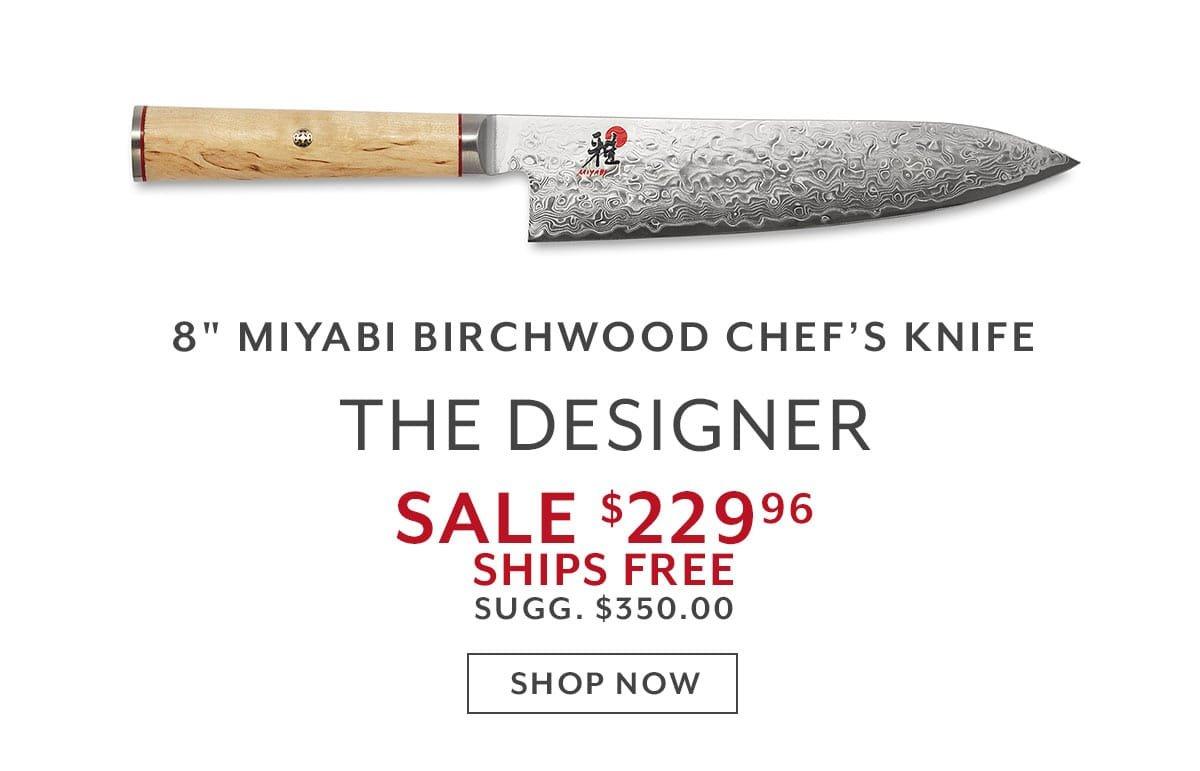 Miyabi Birchwood Chef Knive's