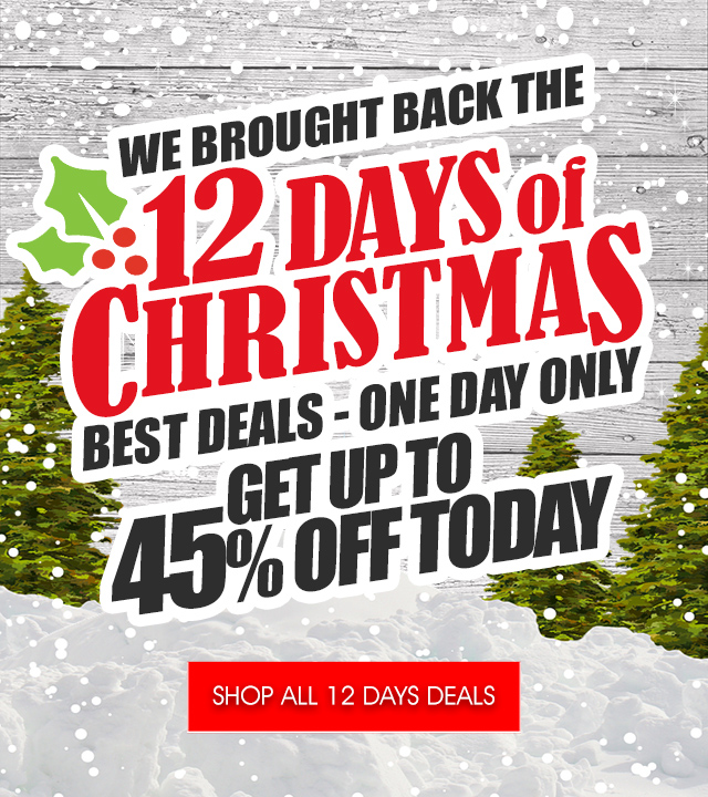 12 DAYS OF CHRISTMAS SALE EXTENDED!