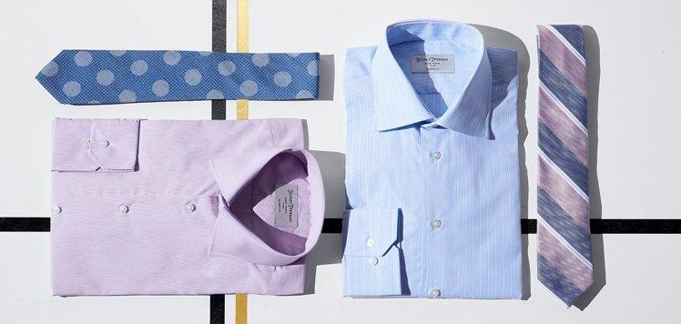 Upgrade Your Dress Shirts & Ties