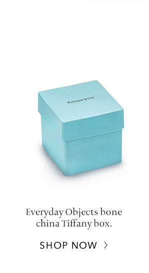 Shop Now: Bone China Tiffany Box
