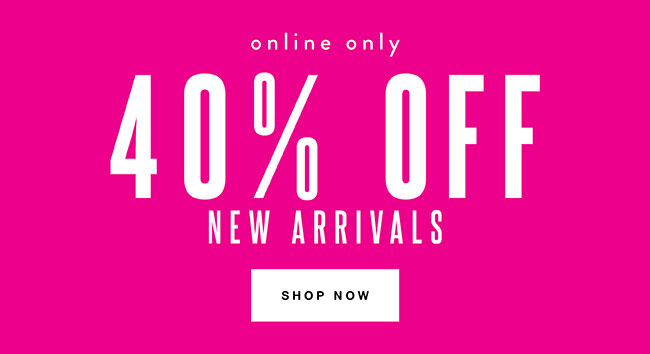 40% off New A - Shop Now
